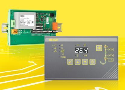 Das neue modulare Konzept der bewährten Magnetventilsteuerung HE 5712 von HESCH ermöglicht Anwendern die flexible Installation und optimale Handhabung der Bedieneinheit.