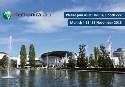 Atlantik Elektronik @ electronica 2018 in München
