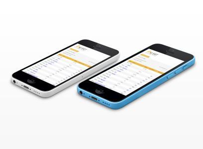 KUERT Datenrettung Online Dateiliste auf iPhone