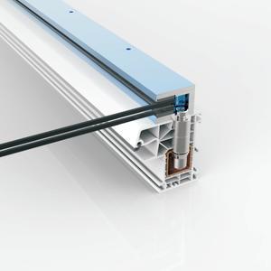 Profildübel CAVUS für Kunststofffenster mit Stahlarmierung