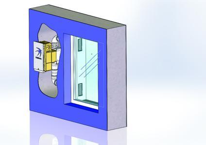 """Da schau her: Dezente Fensterleibung des """"freeAir 100"""" bewahrt eine fließende Fassadenoptik"""