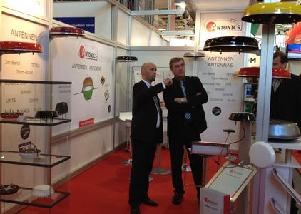 Wirtschaftsminister Ralf Christoffers bei Antonics-ICP
