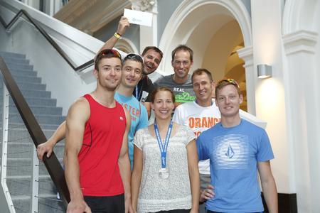 Der zweite Platz in der Firmenwertung des Hamburg Wasser Health Cup 2014 ging an das STILL Team 1 / Foto: STILL GmbH