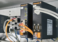 Weidmüller s 'Advanced Line , 'WaveLine , 'ECO Line , its 'family of switches and routers  as well as its 'media converters  are certified for use in Hazardous Locations Class I Division 2 Groups A, B, C and D