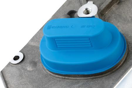 Ressourcenschonender: Hochvolt-Steckerkappe GPN 384 aus 100 Prozent Rezyklat im eingesetzten Kunststoff