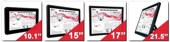 Kapazitive Touchscreen PCs