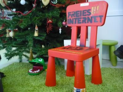 Sit'n Surf - freies Internet für alles Foneros