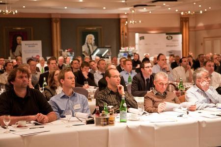Veranstaltungen zu BHKW- und KWK-Themen (Bild: BHKW-Jahreskonferenz 2012 / BHKW-Infozentrum)