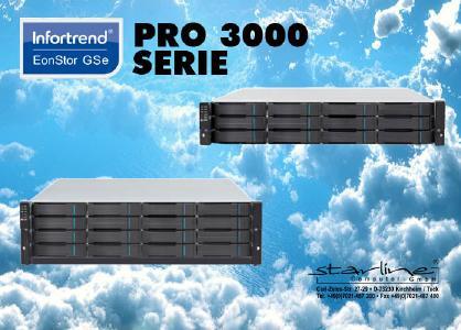Infortrend EonStor GSe Pro 3000 Serie