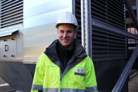 Projektleiter Dennis Binder von HanseWerk Natur