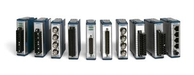 Über 60 verfügbare Messmodule (AMC/NI)