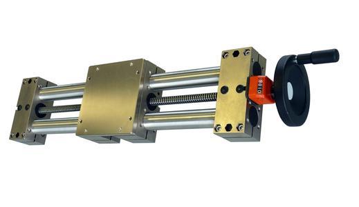 Die neue Doppelrohr-Verstelleinheit mit Rohrdurchmesser 50 mm von INOCON