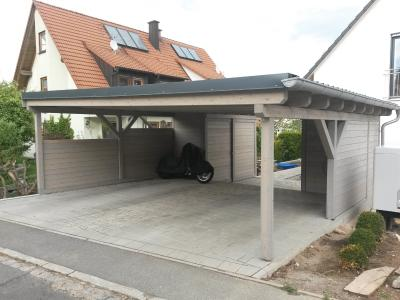 Solar Carport - Funktionalitaet und Optik vereint
