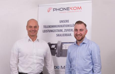 Holger Schäfer und Christoph Klein | PHONEKOM AG