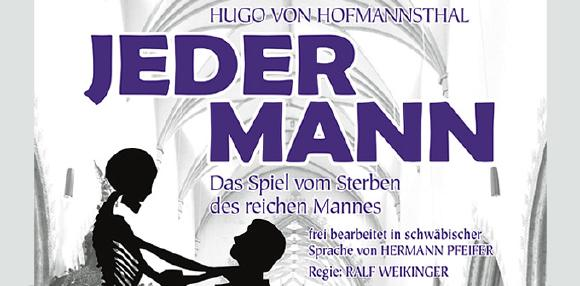 """Nach 20 Jahren wird das Theaterstück """"Jedermann"""" in der Fassung von Hermann Pfeifer wieder aufgeführt"""