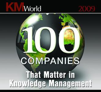 KMWorld100 Logo