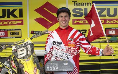 Seewer & Suzuki sensational with MX2 podium