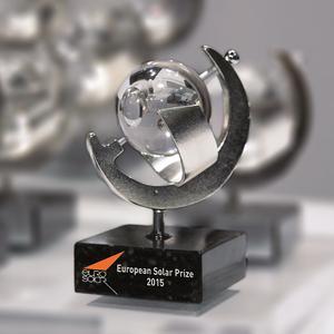 Verleihung des Europäischen Solarpreises 2015 in Prag