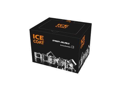IceCoat ist eine mobile Kühlbox, die sich mit Wasser befüllen und einfrieren lässt. Dabei kommt sie ohne zusätzliche Folie aus.