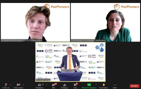 Keynote PeelPioneers opening with Dr. Holger Bengs