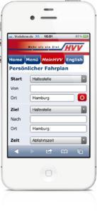 HVV Fahrplan mobil