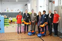 "Logwin supports Save the Children's ""Child Friendly Space"" for refugee children in Berlin Tempelhof"