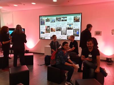 Sie erwartete ein vielfältiges Programm, aber auch die Möglichkeit auf ein vertiefendes Networking in lockerer Atmosphäre mit den Mitarbeiterinnen und Mitarbeitern der drei Institute © Fraunhofer ITWM