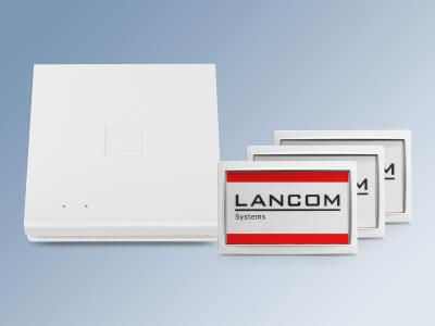 WLAN Access Point der E-Serie mit Wireless ePaper Displays