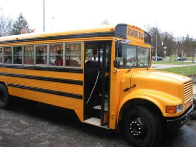 Adobe School Bus