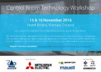 Control Room Technology Workshops to launch in Warsaw next week