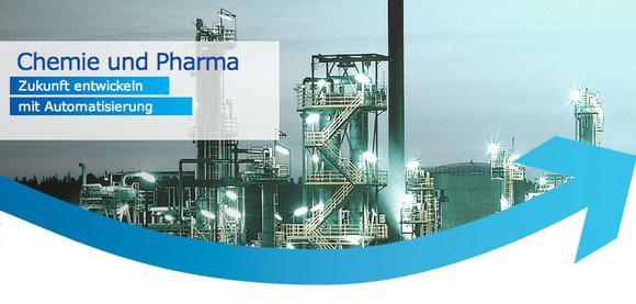 Chemie und Pharma - Zukunft entwickeln mit Automatisierung