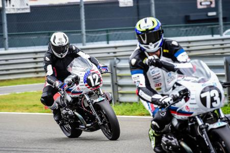 Nate Kern #12 and Christof Höfer #73 for Wunderlich MOTORSPORT on the Circuit Zolder (BE)