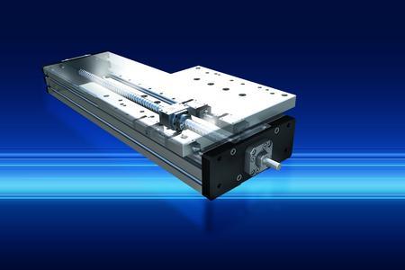 Bei der Entwicklung von Baugruppen und Systemlösungen kommen möglichst leichte Werkstoffe zum Einsatz, so zum Beispiel Aluminium in der Linearachse RLA