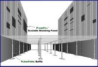 Pleanfill und Pleanform sorgen über und im Doppelboden für eine optimale Kühlluftführung.