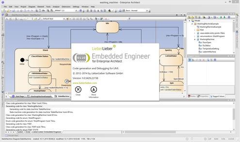 lieberlieber software sparxsystems ce modellbasierte entwicklung auch f r embedded systems. Black Bedroom Furniture Sets. Home Design Ideas