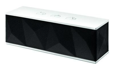 Handlicher Bluetooth-Speaker in auffälligem Diamant-Design