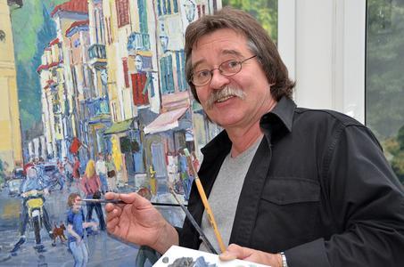 Herbert Siemandel-Feldmann arbeitet nicht nur als Kunsterzieher und Galerist, sondern stellt auch seit vielen Jahren als bildender Künstler seine Skulpturen, Malerei und Zeichnungen einem interessierten Publikum vor.