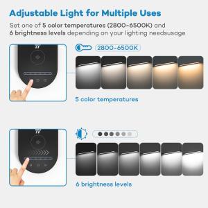 Innovative LED Schreibtischlampe