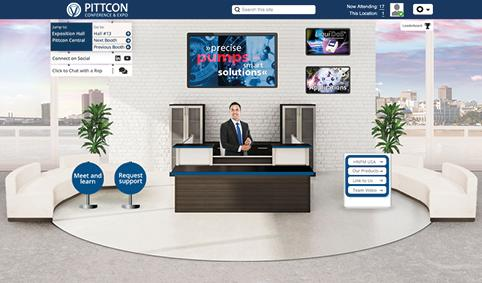HNPM virtual booth at Pittcon