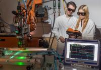 Thüringer Zentrum für Maschinenbau entwickelt intelligente Verfahren zur Laserreinigung von Bauteilen, © ThZM/ari