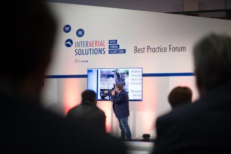 INTERAERIAL SOLUTIONS part of INTERGEO - Führende kommerzielle, zivile Drohnenmesse in Europa