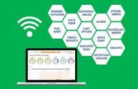 Das funkbasierte Monitoring-System kontrolliert die Strom- und Umgebungswerte auf jeder Ebene im Rechenzentrum.