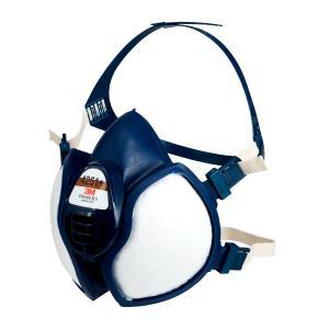 Die 3M Halbmaskenserie 4000+ ist eine Weiterentwicklung der beliebten Serie 4000 – für ein noch leichteres Atmen und mehr Tragekomfort. Foto: 3M