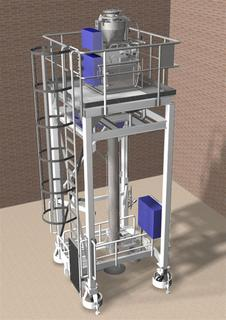 HAVER truck bulk-loading using the HAVER high performance Model 7480 H weigher
