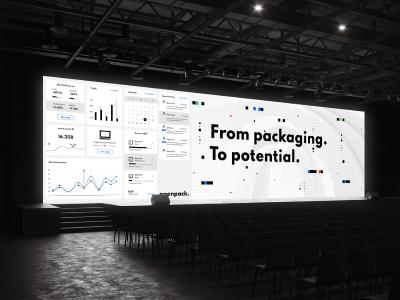 Branding für Openpack: Working on the digital future of the packaging industry