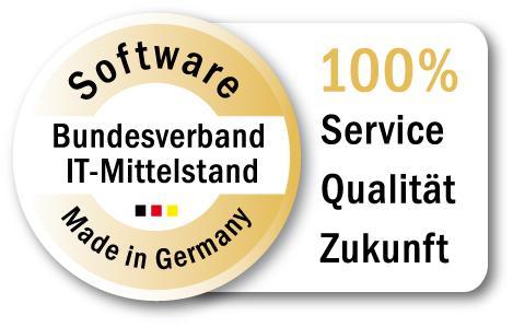 Gütesiegel 'Software Made in Germany'
