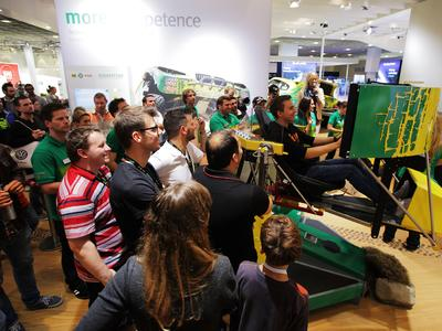 "Schaeffler Automotive Aftermarket can look back on positive results from this year's Frankfurt Motor Show - about 100,000 people visited the stand during the public days, and ca. 3,000 people took part in the ""Schaeffler Rally Experience"""