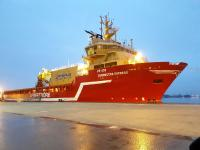 Rhenus receives new multipurpose platform supply vessel for offshore projects
