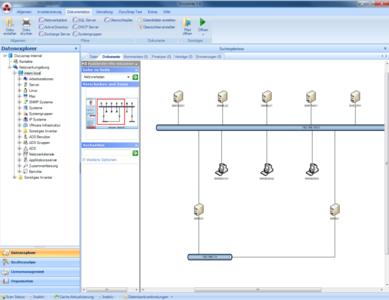 Beispiel Netzwerkplan