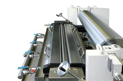 "Pagendarm Pressurized Gravure Chamber System AGS 2500 S ""System BASF"" from now on in the Technology Centre of Polytype Switzerland"